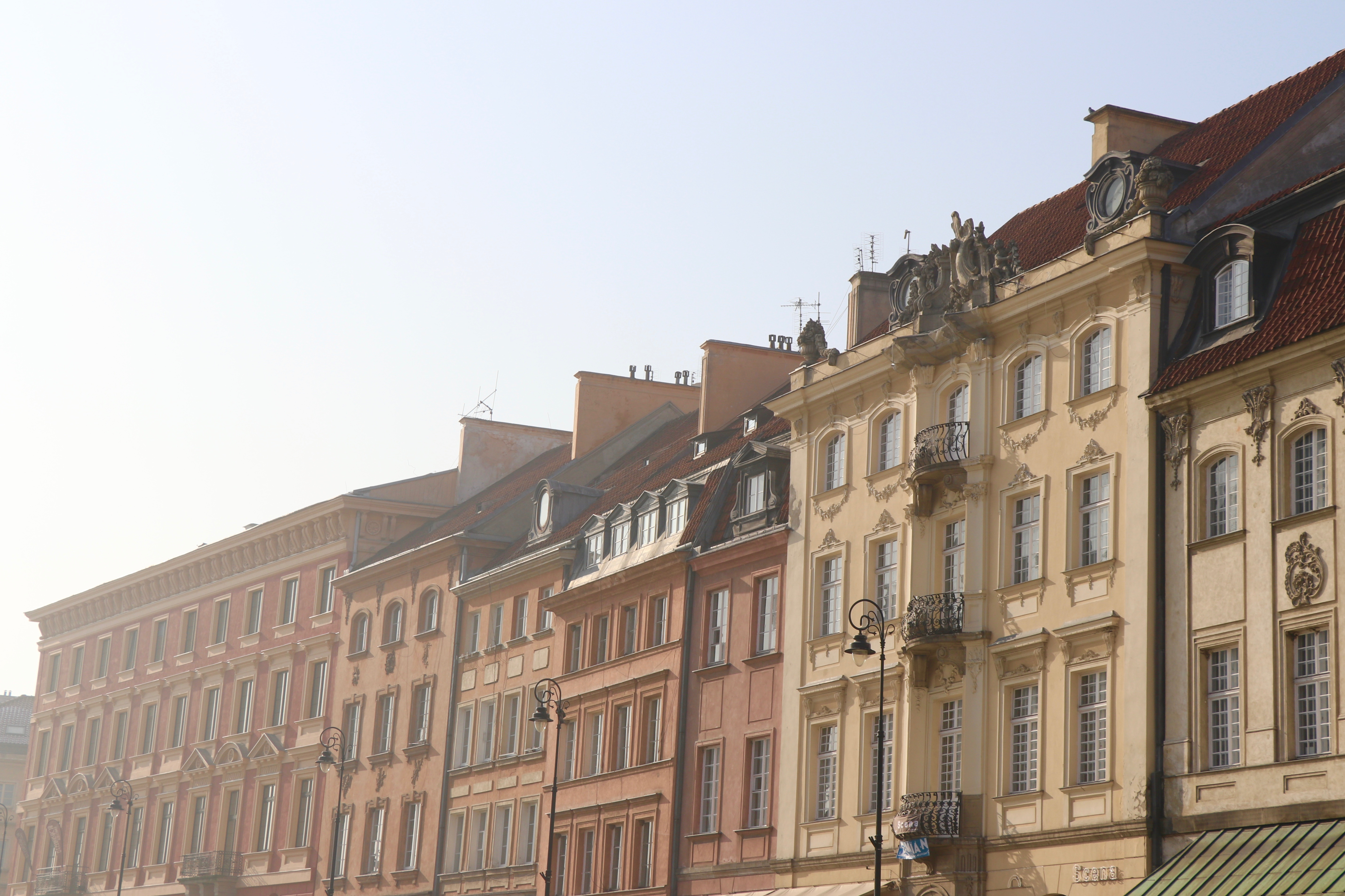 Old Town, Warsaw, Poland - spinthewindrose.com