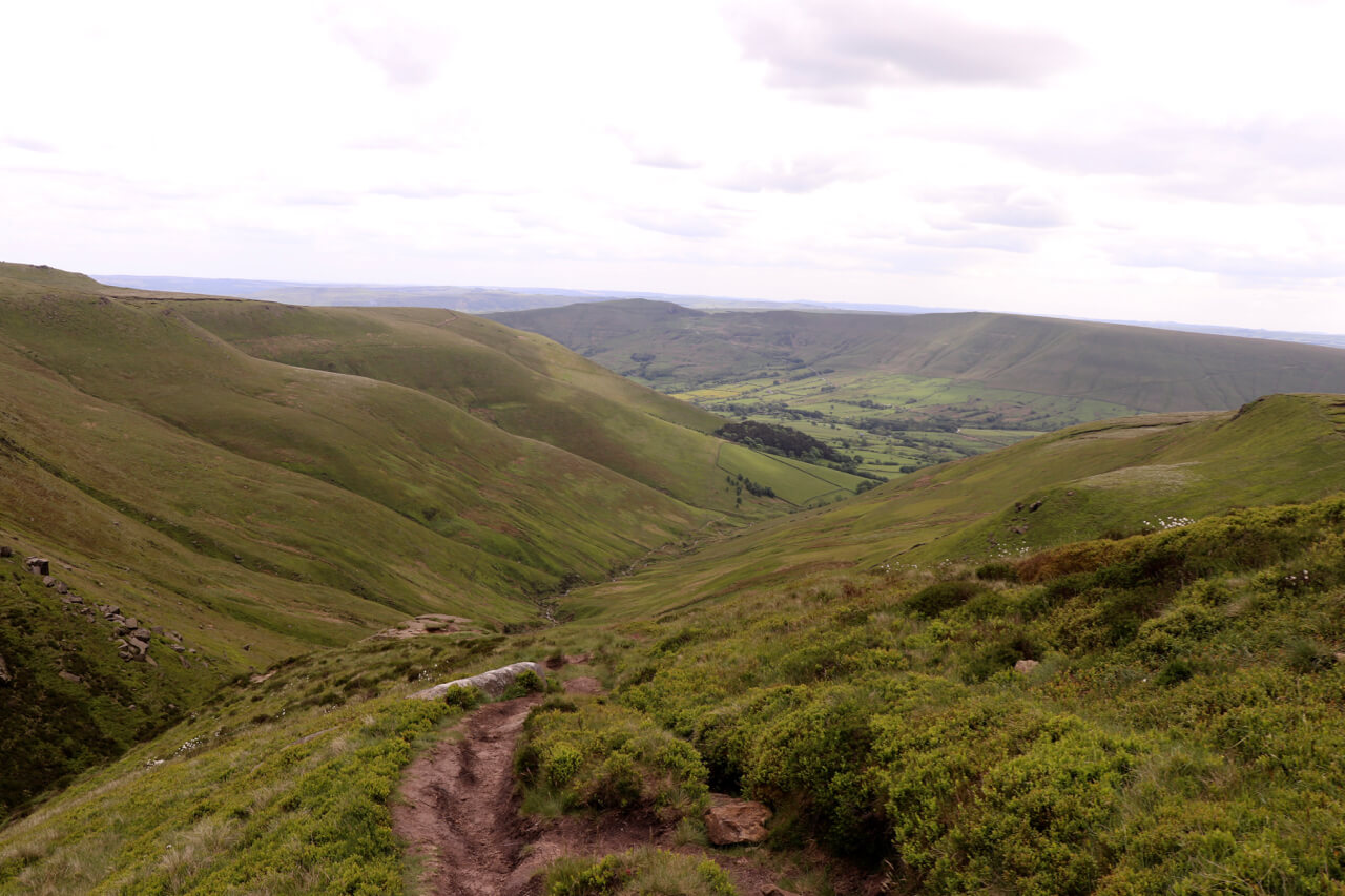 Edale to Kinder Scout Peak District Hike - spinthewindrose.com
